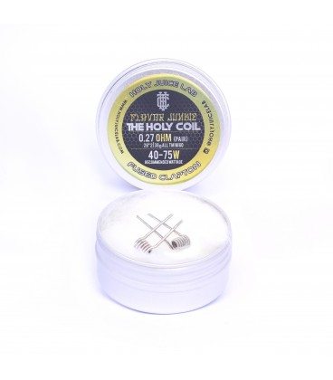 TM Holy Coil Fused Clapton coil (2pcs)